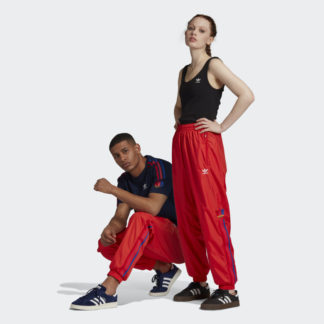 3D TREFOIL 3-STRIPES TRACK PANTS