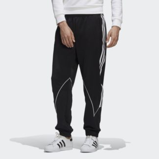 BIG TREFOIL ABSTRACT POLYESTER TRACK PANTS