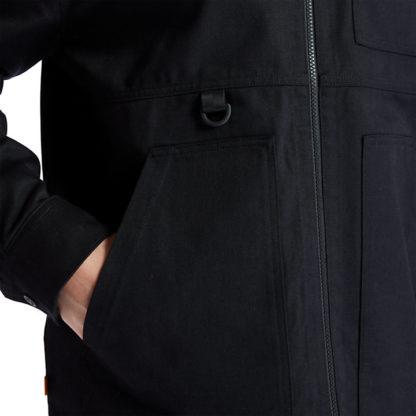 WORKWEAR JACKET FOR MEN IN BLACK