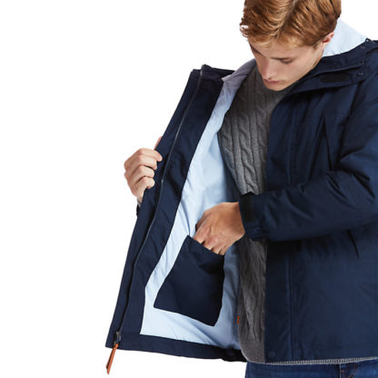 MOUNTAIN TRAIL JACKET FOR MEN IN NAVY