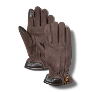 MEN'S LEATHER TOUCHSCREEN GLOVES