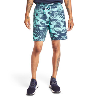 SUNAPEE LAKE FOREST SWIM SHORTS FOR MEN IN GREEN
