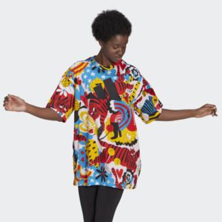 ADIDAS SPORTSWEAR EGLE GRAPHIC TEE DRESS