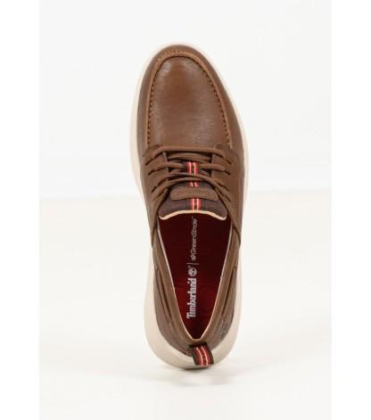 Brown Nubuck Leather Timberland