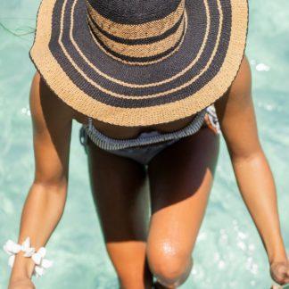 Salt Water Happiness Straw Sun Hat