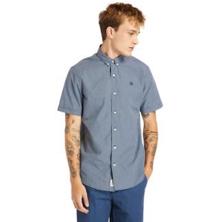 Suncook River Micro-Gingham Shirt