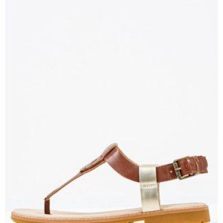 Tabba Leather Flats