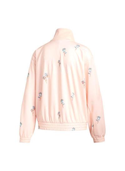 RARE adidas Floral Rose Track Jacket