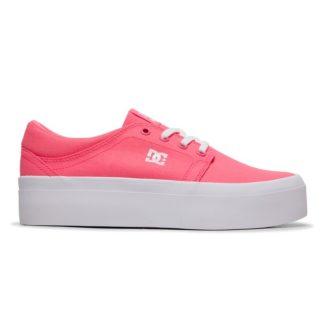 DC Shoes Trase Platform TX - Flatform Shoes for Women ADJS300184